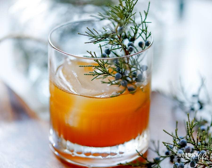 Spiced Gin Cocktail idea