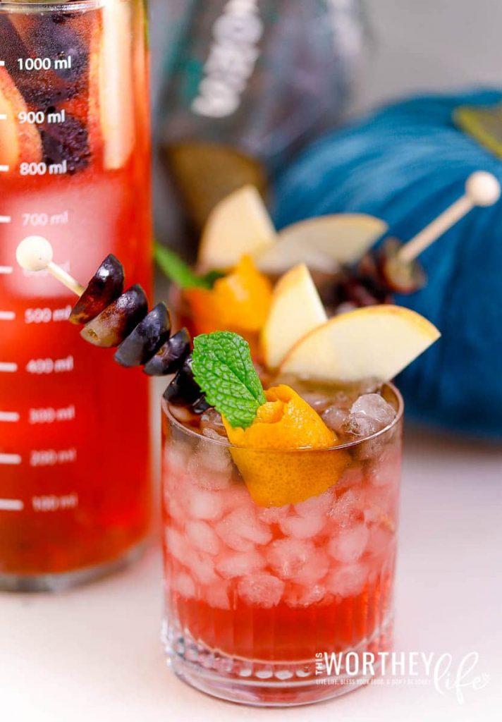 Sparkling Apple Potion Mocktail