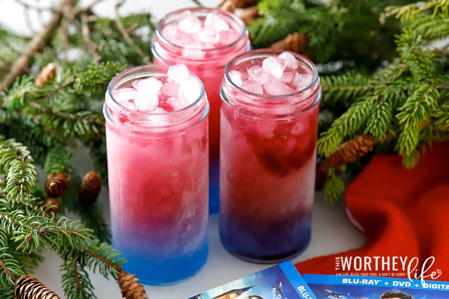 Spider Man Kid-Friendly Drink recipe