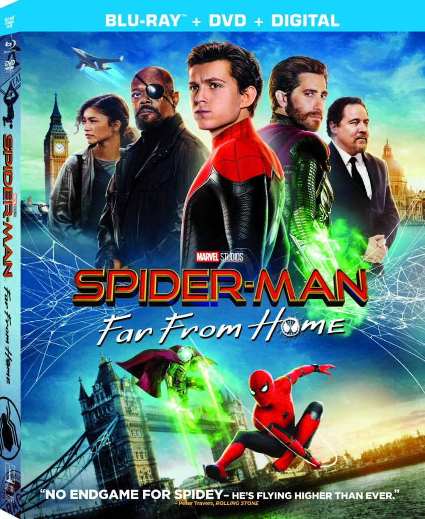 SPIDER-MAN: FAR FROM HOME now available on DVD