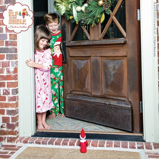 Elf on the Shelf: Who's at the Door?
