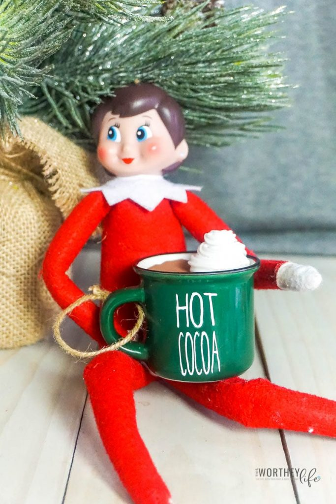Tools You Need To Make This DIY Hot Cocoa Mug For Your Elf