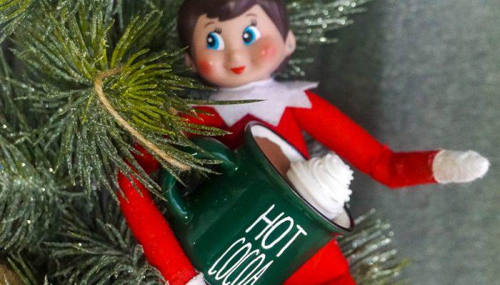 DIY Hot Cocoa Mug For Your Elf on the Shelf