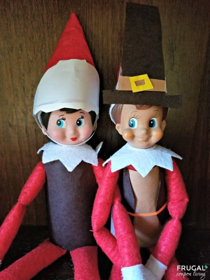 Elf on the Shelf: Thanksgiving Pilgrim Elf