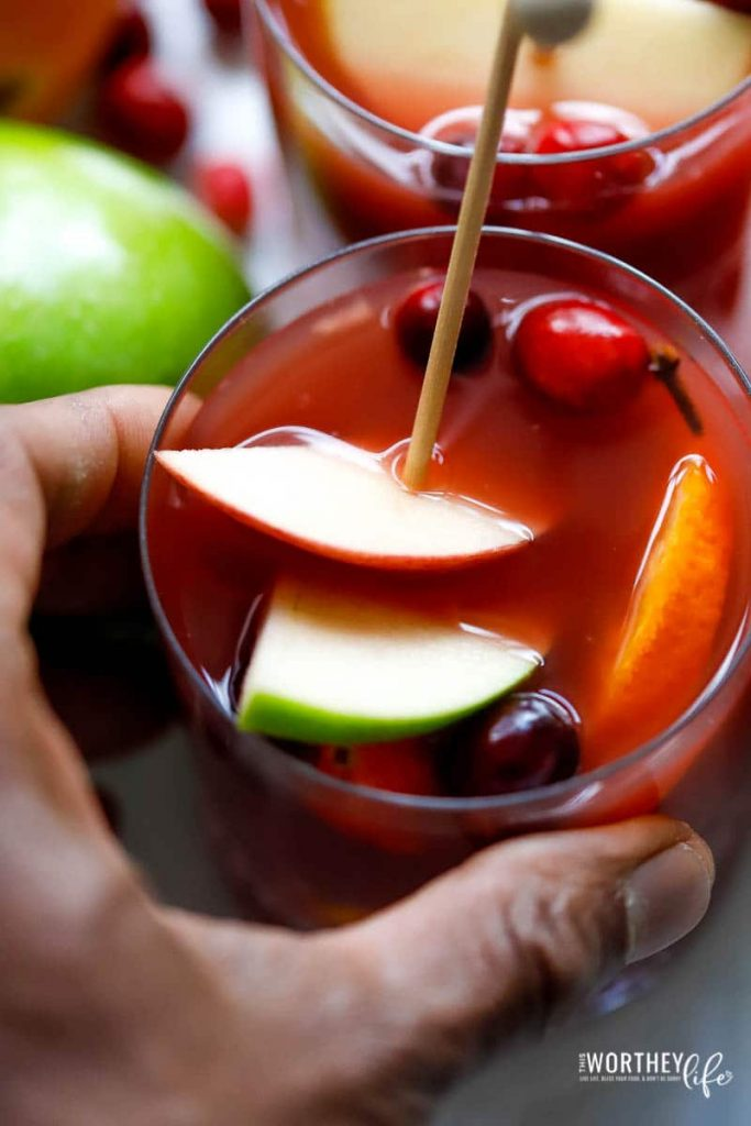 the best mulled mocktail