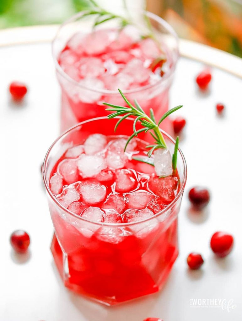 Holiday mocktail recipes