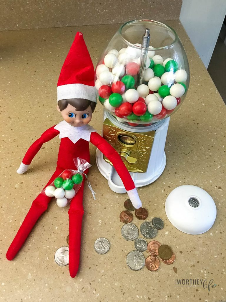 Easy Elf On The Shelf Ideas In Under 5 minutes