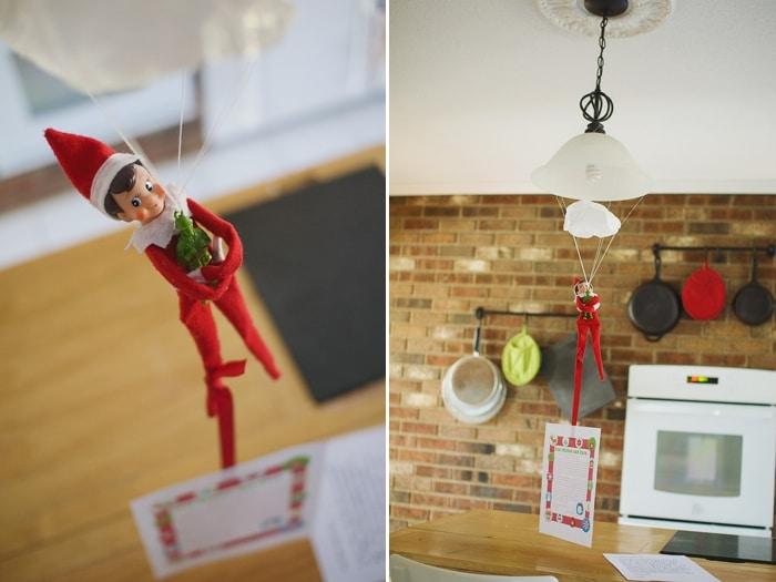 Elf on the Shelf: Parachute Landing