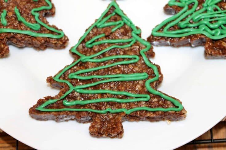 Chocolate No Bake Cookies for Christmas