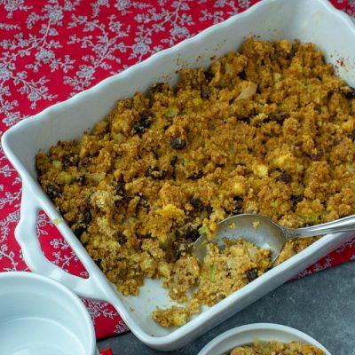 Family Recipe Southern Cornbread Stuffing