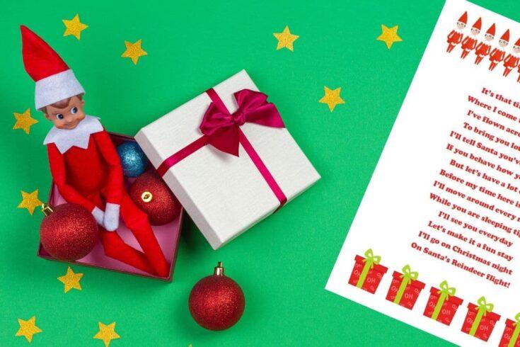 Free Elf on the Shelf Letter & Letterhead