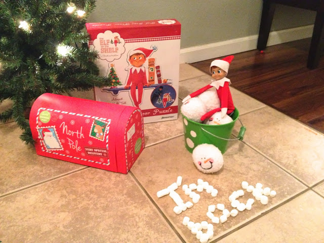 Elf on the Shelf: Mailbox Welcome