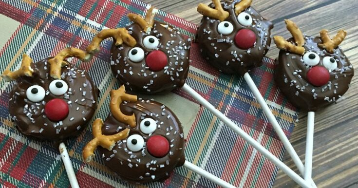 Holiday Reindeer Oreo Pops Recipe