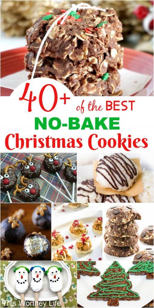 No-Bake Christmas Cookies
