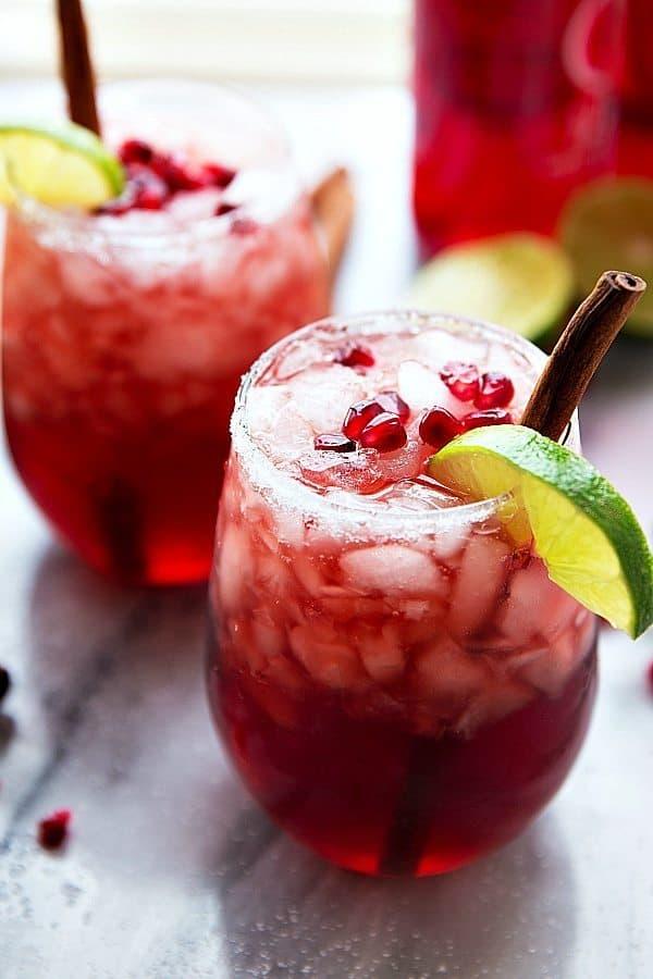 Sparkling Cranberry Pomegranate Juice