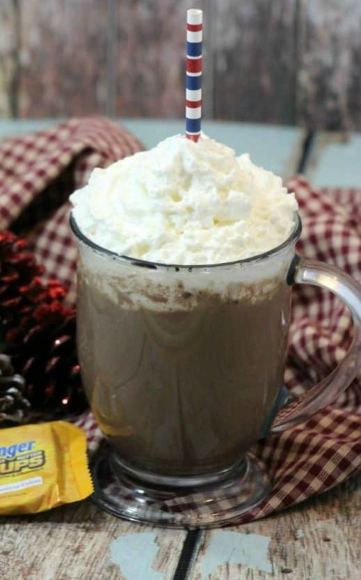 Butterfinger Hot Cocoa