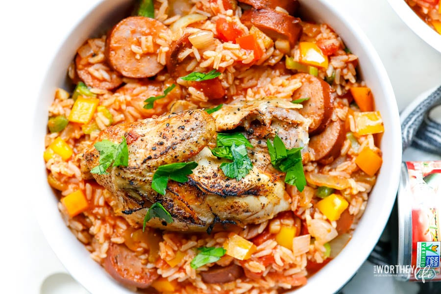 Easy recipe for making jambalaya