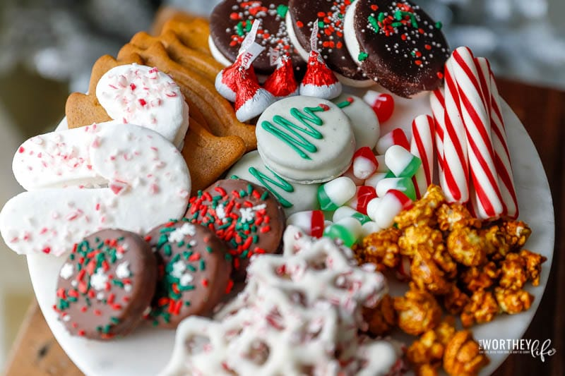 Christmas candy board