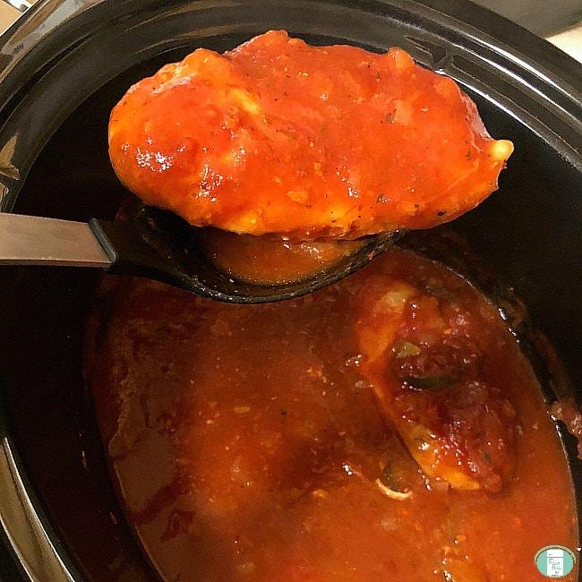 Easy Crock Pot Chicken Cacciatore {freezer meal}