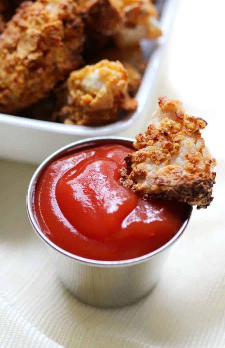 Extra Crispy Gluten-Free Air Fryer Popcorn Chicken (Allergy-Free, No Oil)