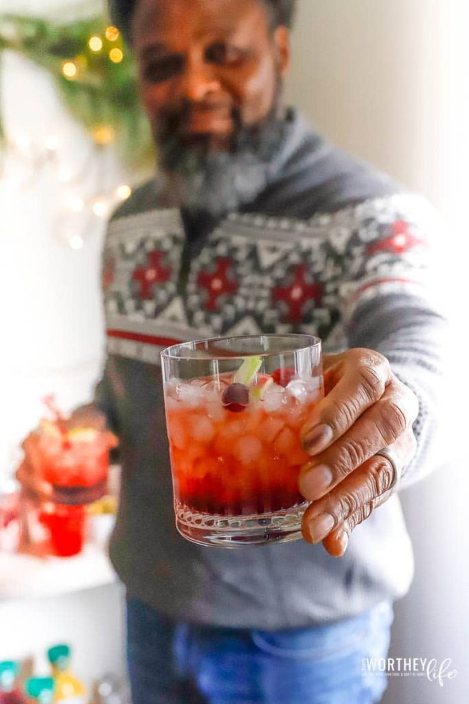 Holiday Fizzy Sangria Recipe