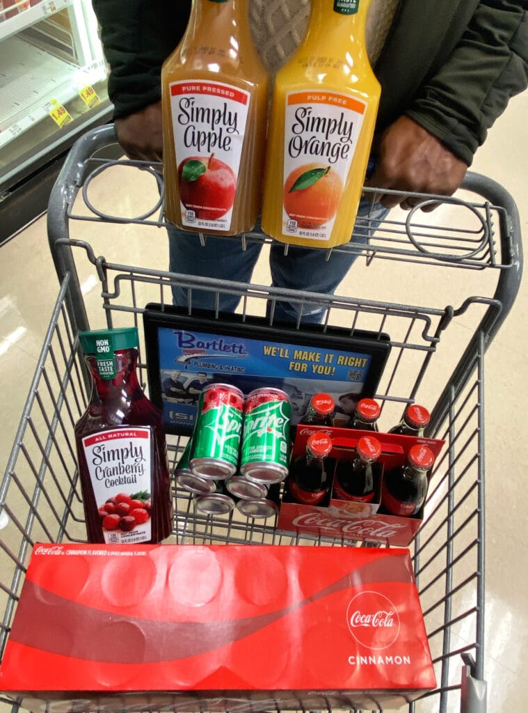Kroger Bar Cart essentials