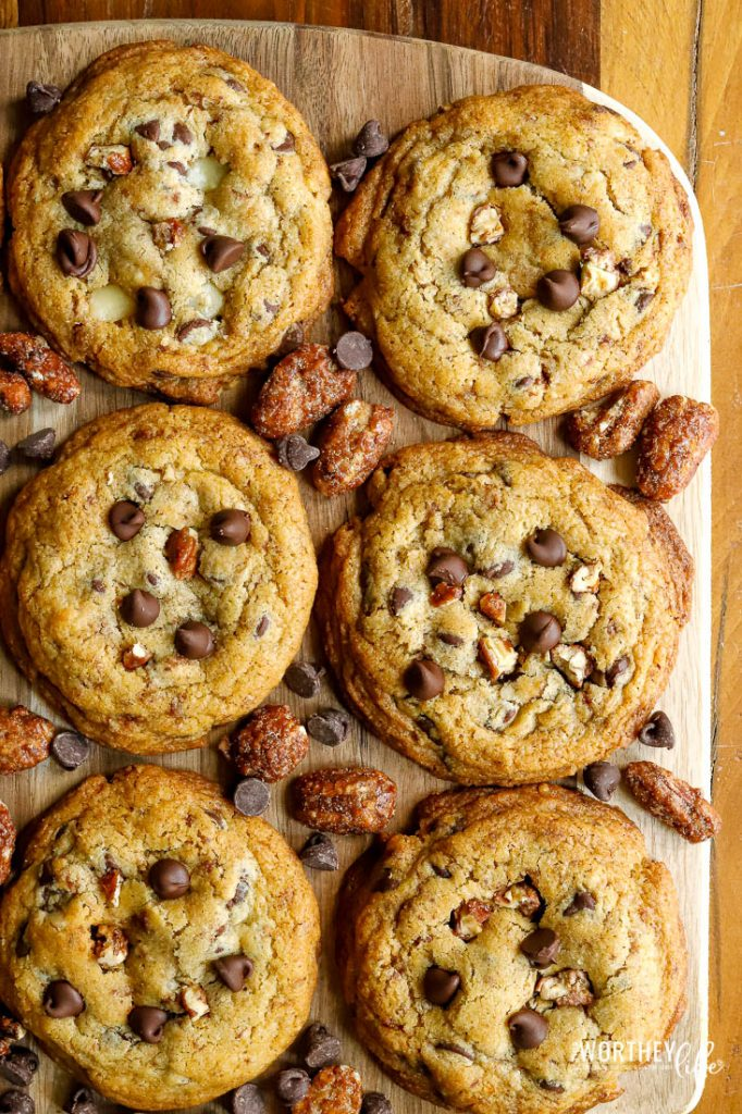 The top chocolate chip and pecan cookie recipe