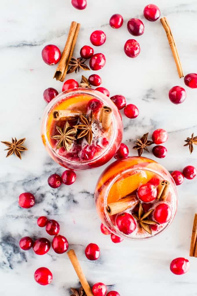 Winter Sangria (non-alcoholic!!) – Yeah…Immaeatthat