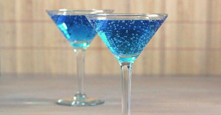 Blue Shoe Mocktail Recipe