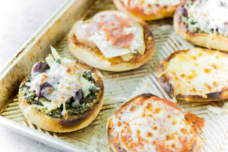 Four Delicious English Muffin Pizza Recipes