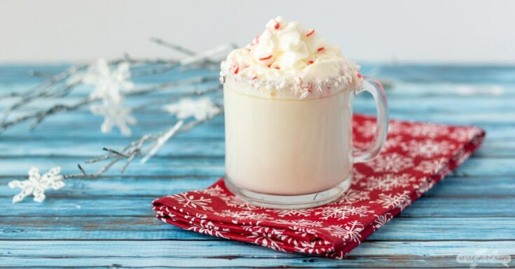 Peppermint Mocha White Hot Chocolate