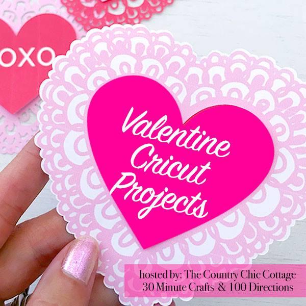 Personalized Valentine Felt Envelopes with your Cricut