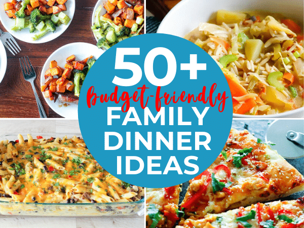 Easy Dinner Ideas For About $5 - Budget-Friendly Recipes