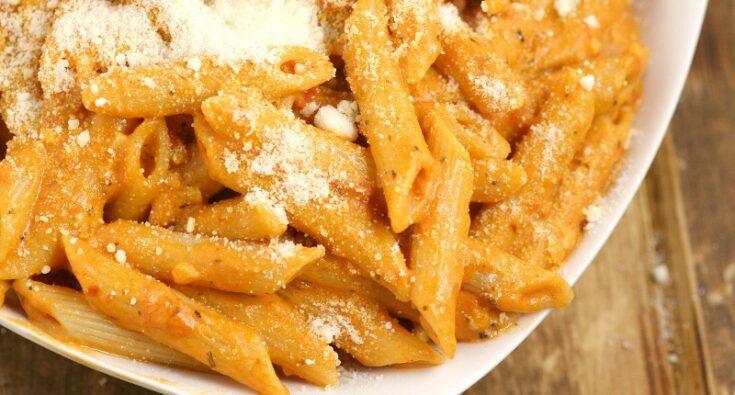 Creamy Tomato Penne Pasta