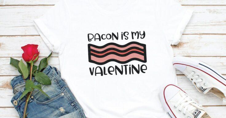 Funny Food Valentines SVG Bundle