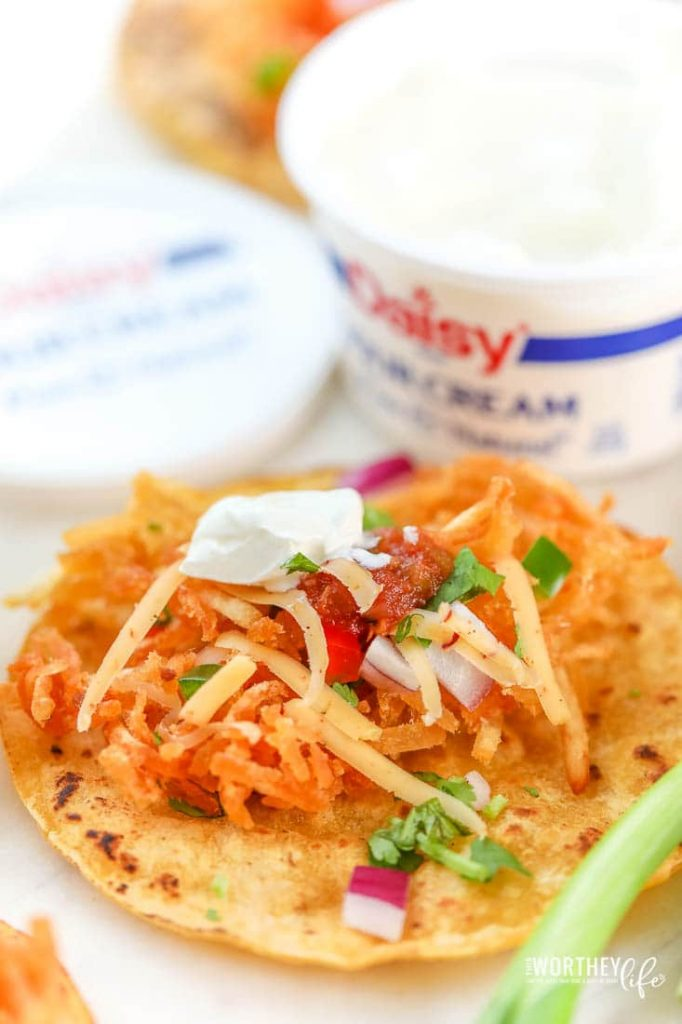 Crispy Hash Brown Taco Recipe