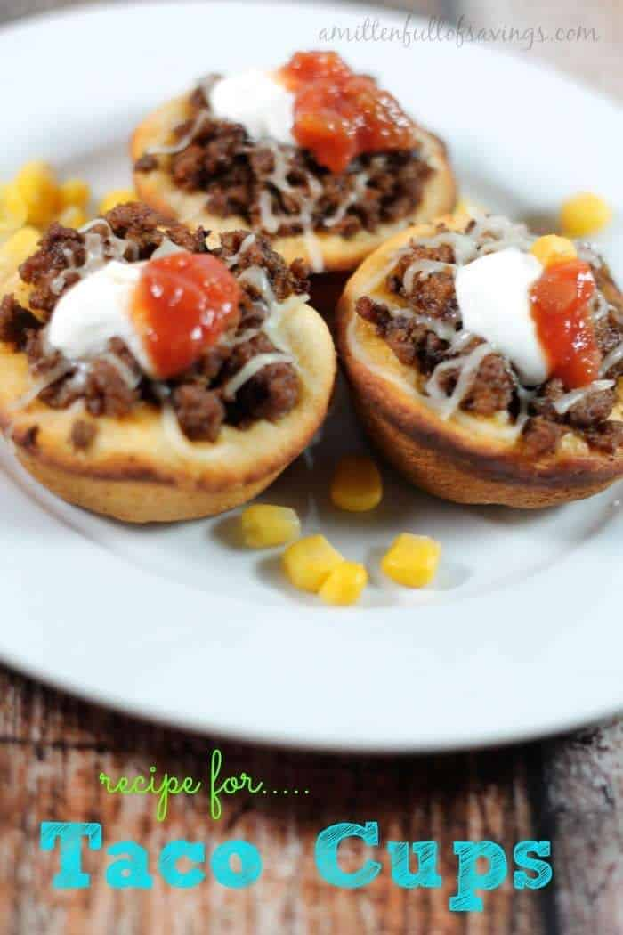 Easy Meals To Make: Recipe for Taco Cups