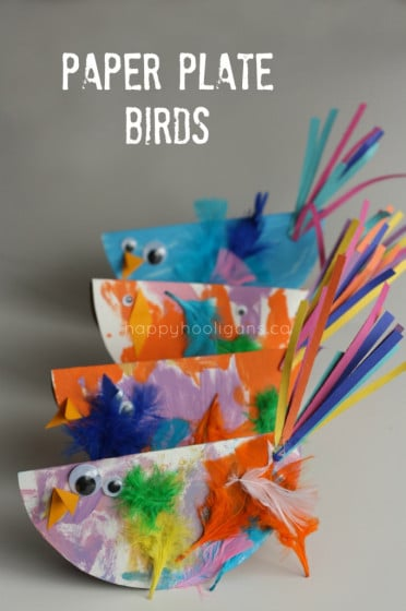 Paper Plate Bird Craft for Kids - Easy and SO Cute!