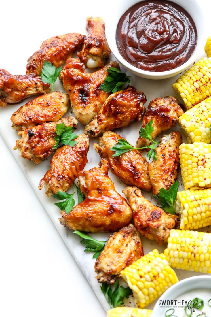 the easiest chicken wings