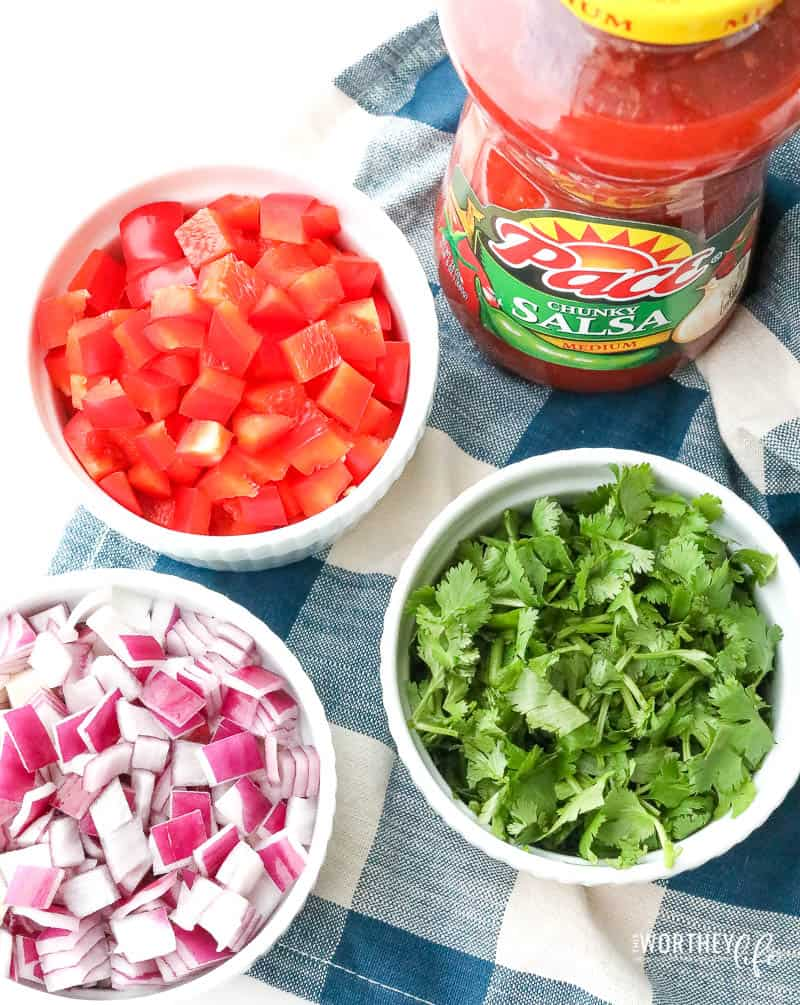 Ingredients you need to make Instant Pot Lasagna Soup