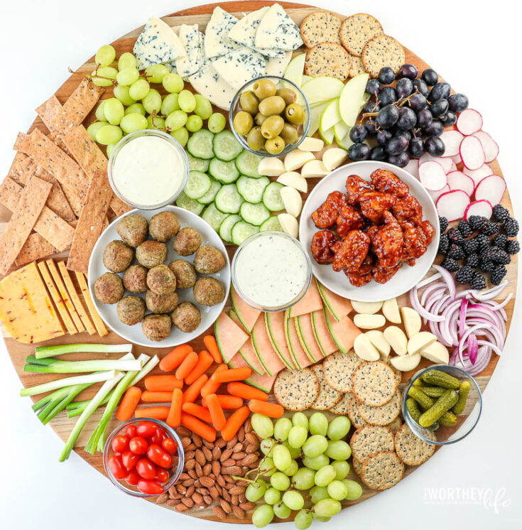 Supersized Grazing Board For Game Day