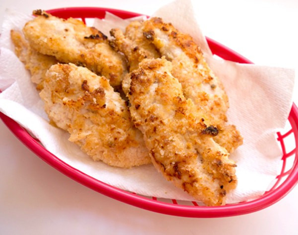 Healthy baked chicken tenders