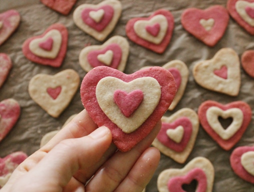 Gluten-Free Valentine's Sweetheart Sugar Cookies