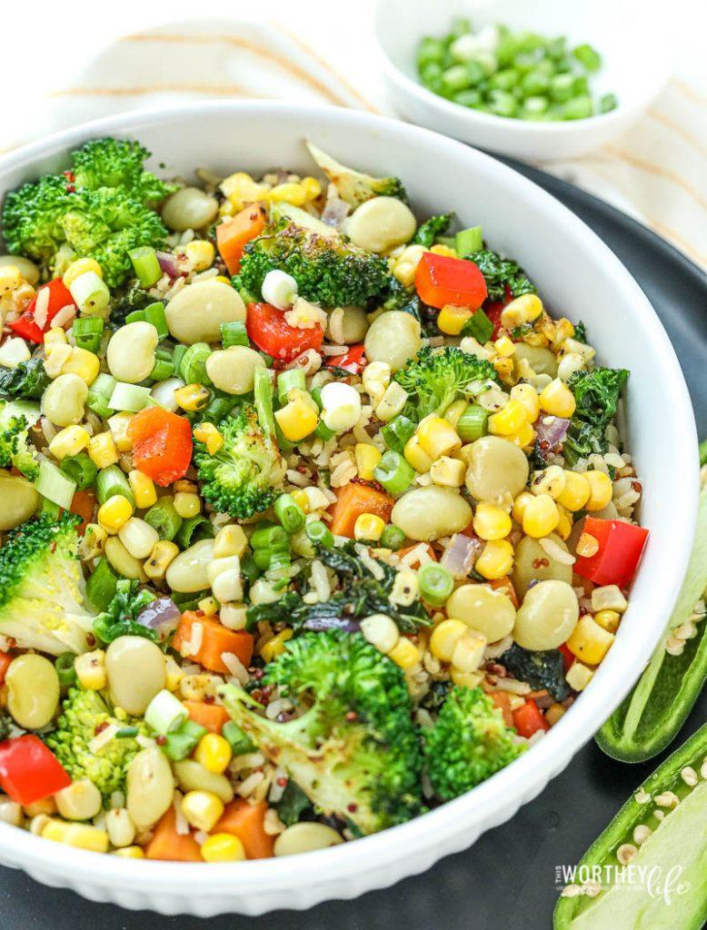 how to make a veggie stir-fry