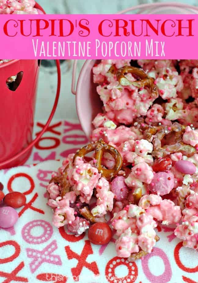 Cupid's Crunch Recipe - Valentine's Day Treats!