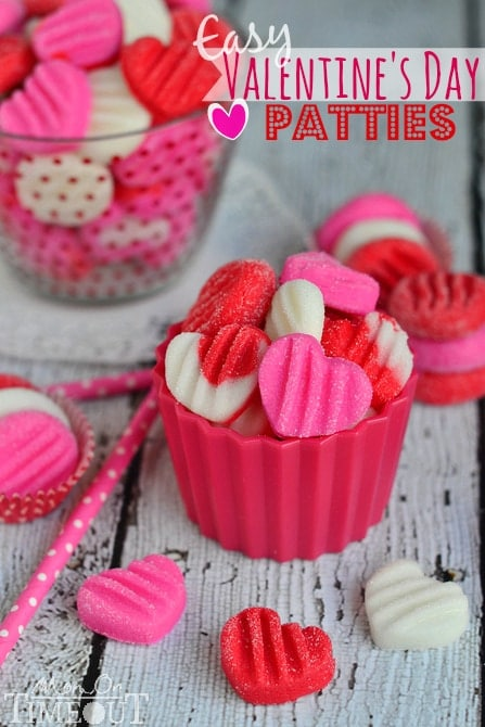 Easy Valentine's Day Patties