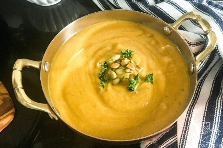 The Best Slow Cooker Butternut Squash Soup