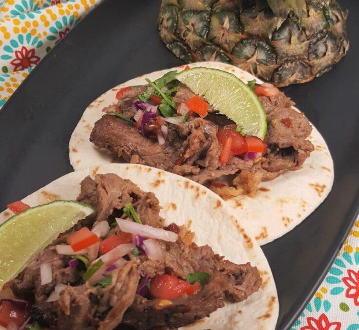 Air Fryer Tijuana Street Tacos like in Mexico!