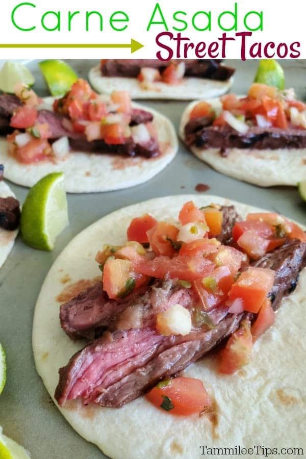 Grilled Carne Asada Tacos