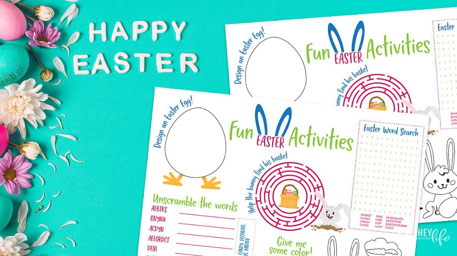 Easter Activities printable